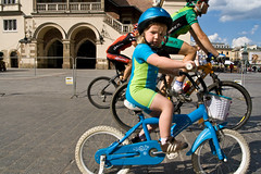 little racer (annaspies) Tags: bicycle race krakow cycle marketsquare rynekgwny krakoff
