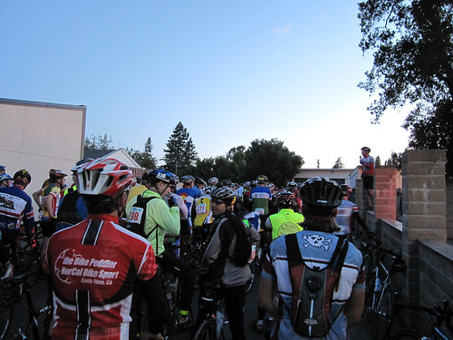 pre-ride briefing