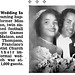 Twin Sister of Ollie Matson, Ocie Matson, Weds Arthur E. Thompson - Jet Magazine, September 3, 1953