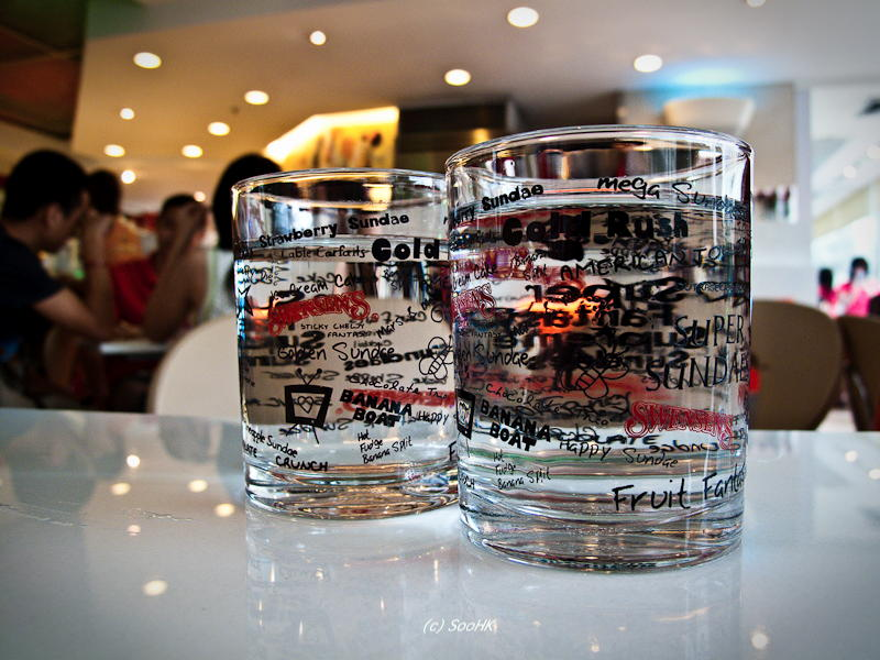 Cold Drinks @ Swensens, Bangkok, Thailand