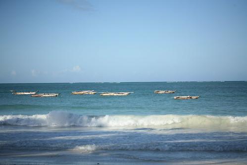 Kiwengwa boats