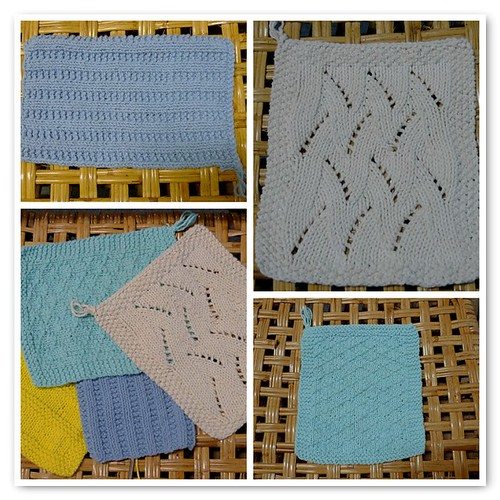 Crater Lake Dishcloths