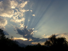 sunset July 1 (Marlis1) Tags: sunset sky clouds spain sunrays elsports marlis1