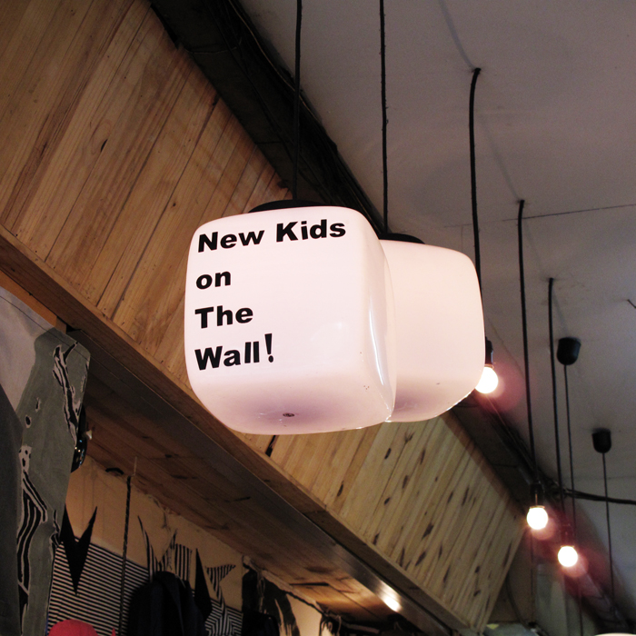 New Kids on the Wall