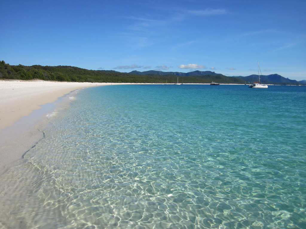 Whitehaven Beach is incredible