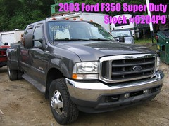 03 Ford F350 super duty -stock #0204P9