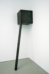 Richard Serra, Corner Prop, 1969 (16 Miles of String) Tags: nyc newyorkcity newyork art 1969 metal corner chelsea pipe cube serra prop richardserra davidzwirner zwirner 6rooms davidzwirnergallery 6works6rooms 6works cornerprop artcat9874