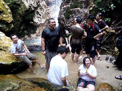 Kemensah Falls - 07 Third waterfall