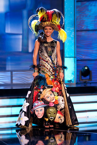 Miss Nicaragua 2009 in National Costume Competition