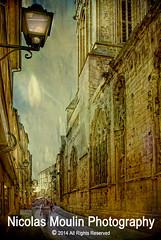 Notre Dame de Froide Rue (Eglise Saint Sauveur et Rue Froide de Caen) (Nicolas Moulin (Nimou)) Tags: france calle iglesia normandie rue francia eglise calvados ville caen centrourbano normandia saintsauveur ruefroide