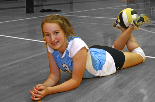 Volleyball Individual Picture Poses