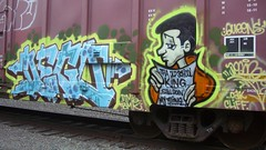 dego (Making Stuff Blog) Tags: trains bnsf armn boxcarart fr8trains texasgraff texasbenching texasfr8s texasgraffitifreighttrains goldenwestservicefr8s