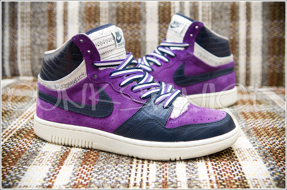 Purple Stussy Court Forces.