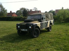 1979 110 Military Landrover