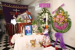 Hình đám tang nhạc sĩ Duy Tân