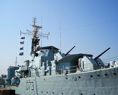 H.M.S. Cavalier, Chatham Dockyard, kent (Snapshooter46) Tags: kent destroyer cavalier cclass chathamdockyard d73