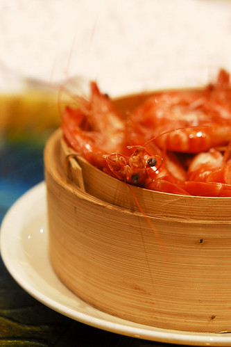 Steamed prawns - DSC_3011