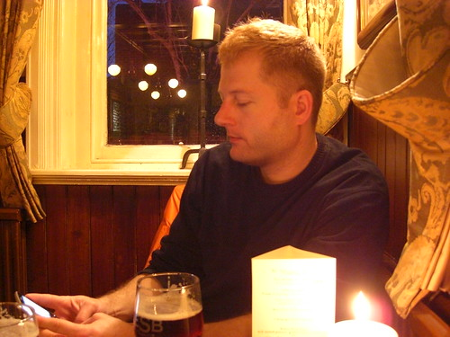 Me in Rose and Crown pub in Ealing