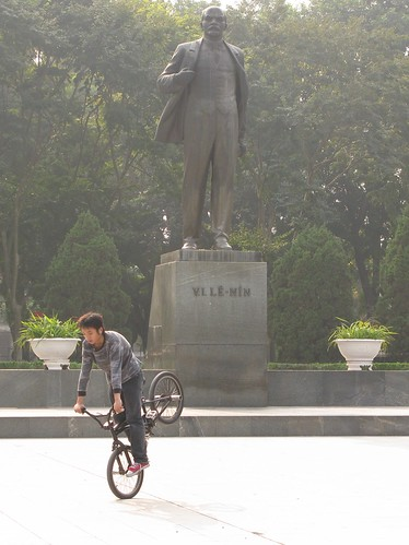Youth culture vs Old guard - Hanoi, Vietnam