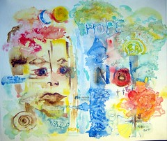 Art: watercolour: contemporary:.. Give me Love and HOPE..., theme aids...sida (Nadia Minic) Tags: art sida aids mdecinssansfrontires msf original love amour liebe hoffnung hope espoir aquarell aquarelle watercolourpainter aquarellistin aquarelliste aquarellmalerin abstrakt abstrait abstract colourfull color farbig gesicht aussage augen yeux worte mots words mund mouth bouche no non nein bitte luxembourg children world health sick dead enemy people humanity human interestingness interessantes artiste peintre gallery galerie luxembourgart nadiaminic contemporain nadia minic europe artistepeintreluxembourg