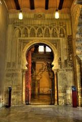 Puerta (alfonso domingo) Tags: zaragoza hdr aljafera