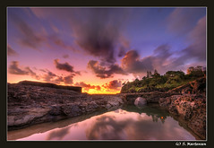 Sunrise Snapper Rock (danishpm) Tags: ocean water sunrise canon eos rocks australia wideangle aussie aus 1020mm snapper coolangatta snapperrocks rainbowbeach sigmalens eos450d 450d sorenmartensen