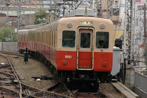 Hanshin8901series in Amagasaki(Hanshin),Amagasaki,Hyōgo,Japan 2008/10/05