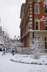 Snow-0706 ('LPG') Tags: uk snow london europe d70 nikond70 lpg lightroom kingscollegelondon