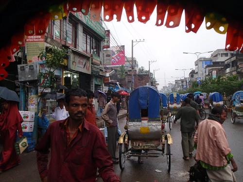 Bogra rickshaw