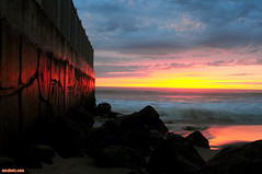 DockweilerSunset131 (mcshots) Tags: ocean california winter sunset sky usa storm beach nature rain clouds coast losangeles sand surf waves jetty stock socal mcshots smrgsbord dockweiler