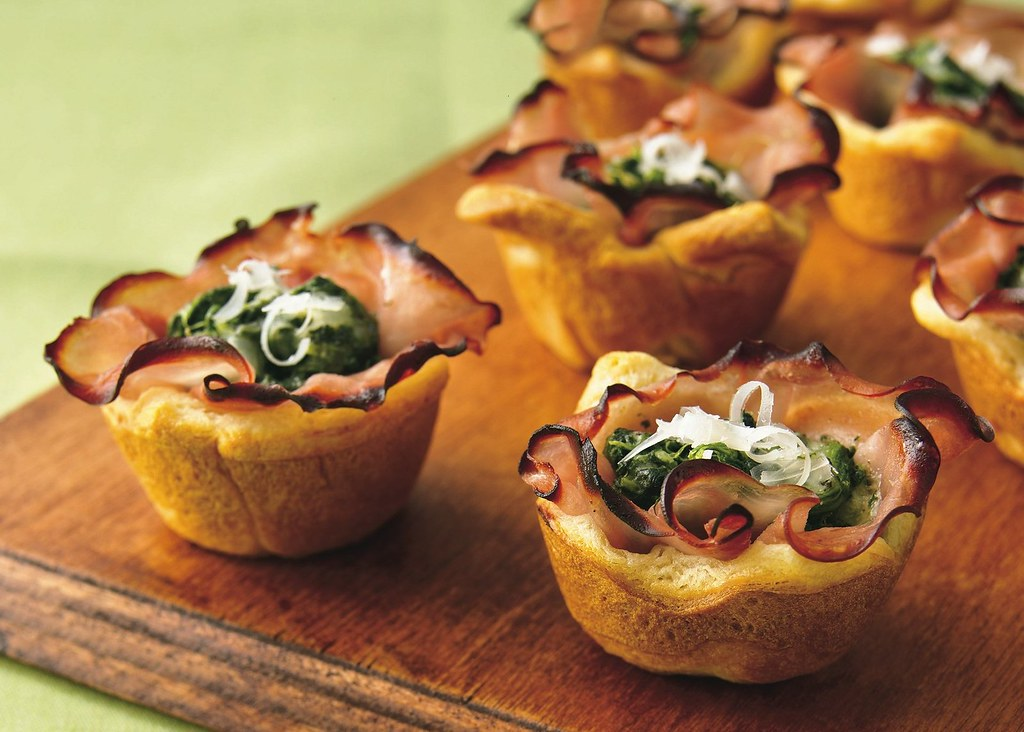 Recipe: Ham Florentine Mini-Cups