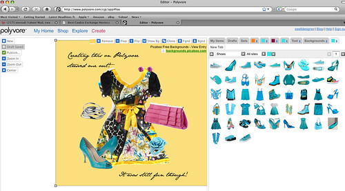polyvore screen shot