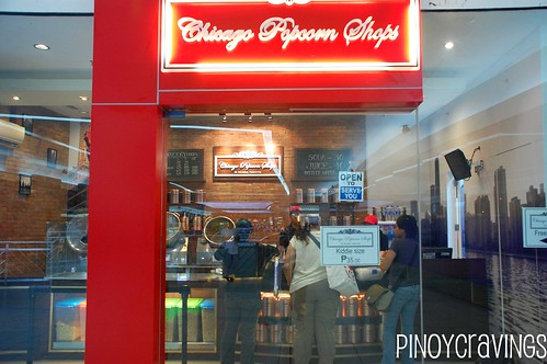 chicago popcorn shops Mall of Asia