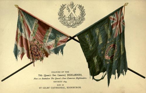 029-Banderas 79 Regimiento de Highlanders
