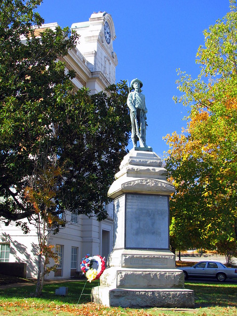 Lewisburg, TN Civil War monument