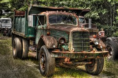 1948 Mack EQX (Sunset Sailor) Tags: 1948 truck dump explore mack hdr photomatix eqx