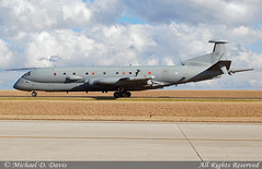 UK-Air Force BAE Systems Nimrod MRA4 (ZJ516) (Michael Davis Photography) Tags: airplane photography nashville unitedkingdom aviation jet airforce warbirds nashvilletennessee royalairforce kbna militaryjet nashvilleairport cargoramp mra4 airportramp ukairforce baenimrod zj516