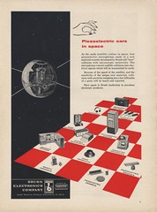 Brush Electronics Company Ad (bustbright) Tags: vintage ads advertising design graphics technology graphic tech july science 1957