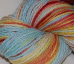 """Strawflower"" Eco Wool 6oz with trim"