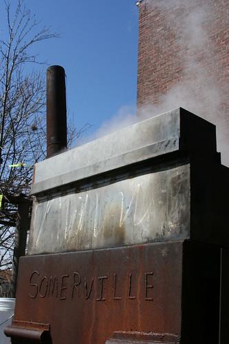 The sap boiler