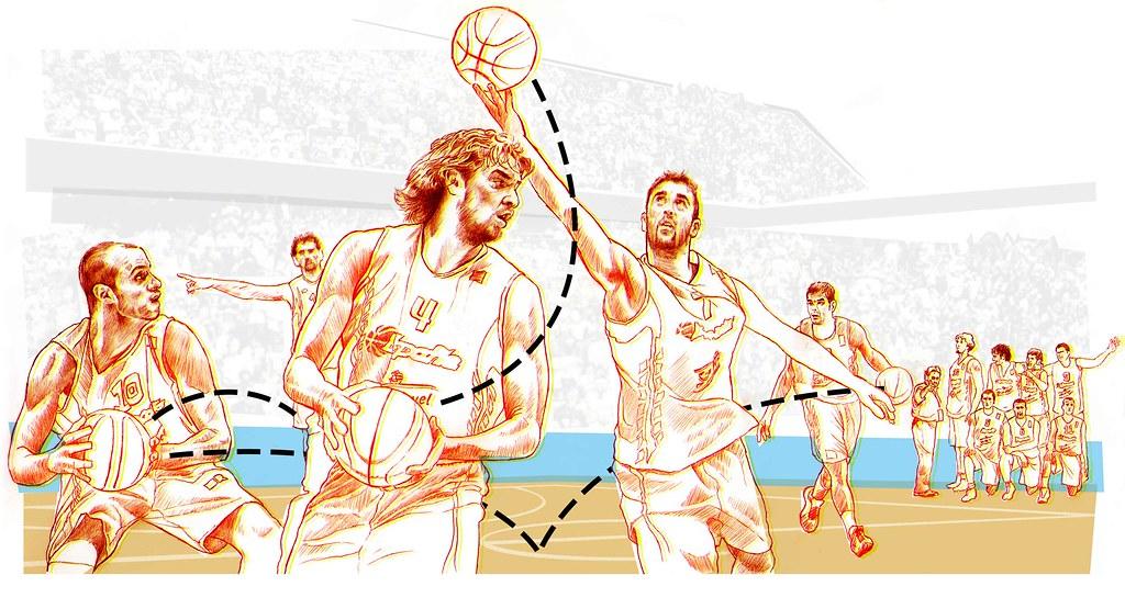 Gasol y la Selección Española