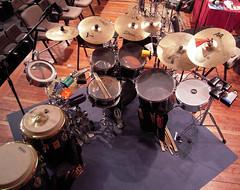 Drum set de Enildo Rasúa (Bellwizard) Tags: drumset bateria batería cubanpercussion thethirdhand percusió enildorasúa percusióncubana