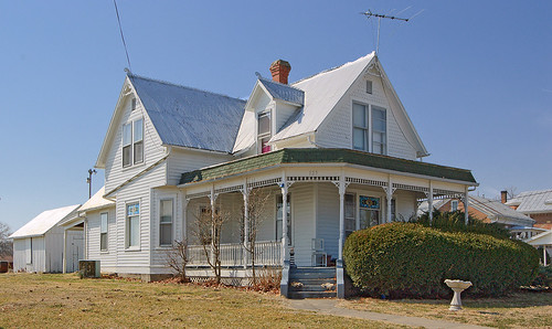House, in Brussels, Calhoun County, Illinois, USA - 2