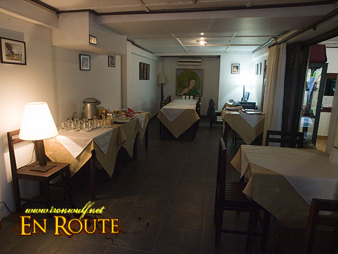 Lao Heritage Hotel Dining Room