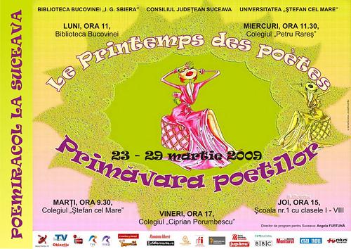23-29 Martie 2009 » Primăvara poeţilor