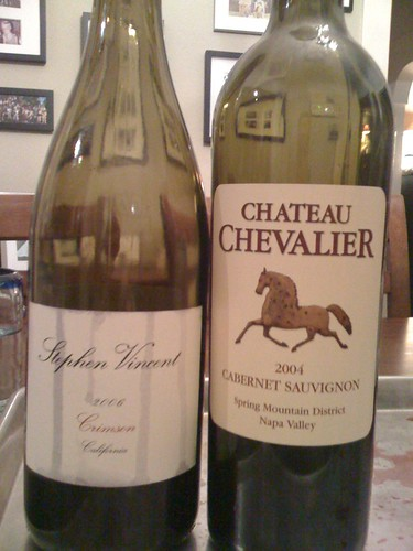 Grape Madness Round #4: Stephen Vincent vs. Chateau Chevalier