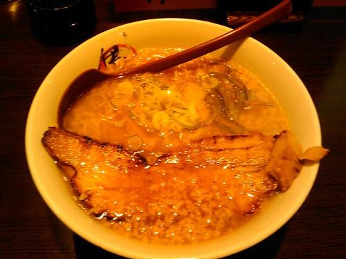 伊丸 炙りチャーシュー麺