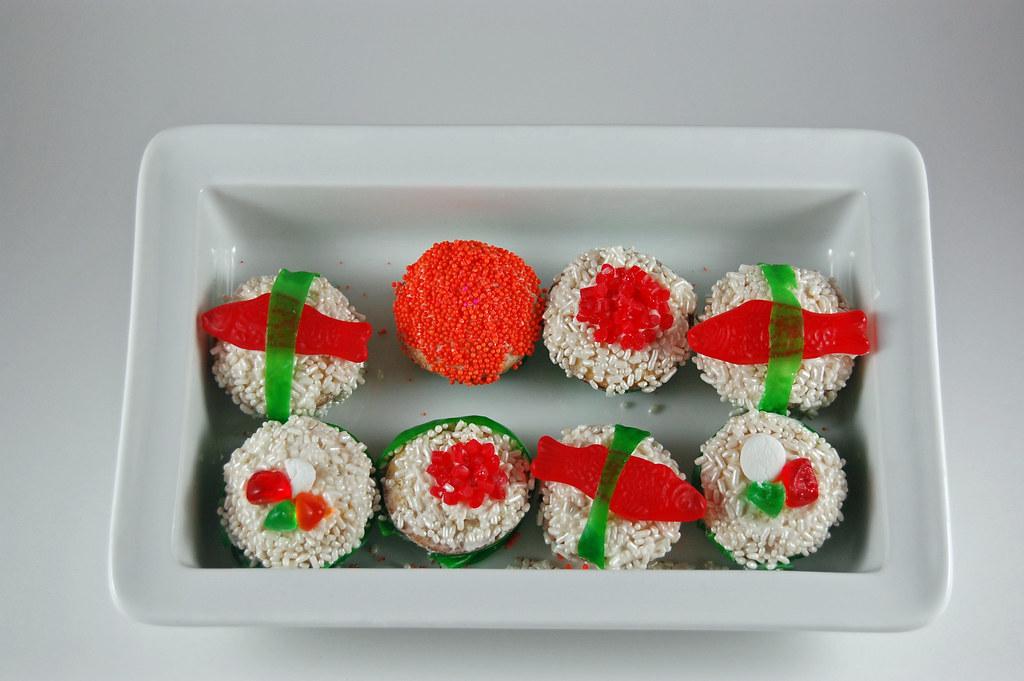 Sushi Cupcakes 04