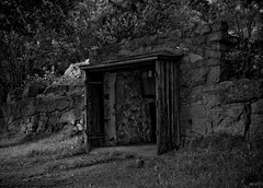 Garage (gothicburg) Tags: summer bw sweden garage gothenburg guessedgbg