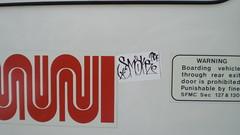 smoke (gordon gekkoh) Tags: sticker smoke muni pcf cma